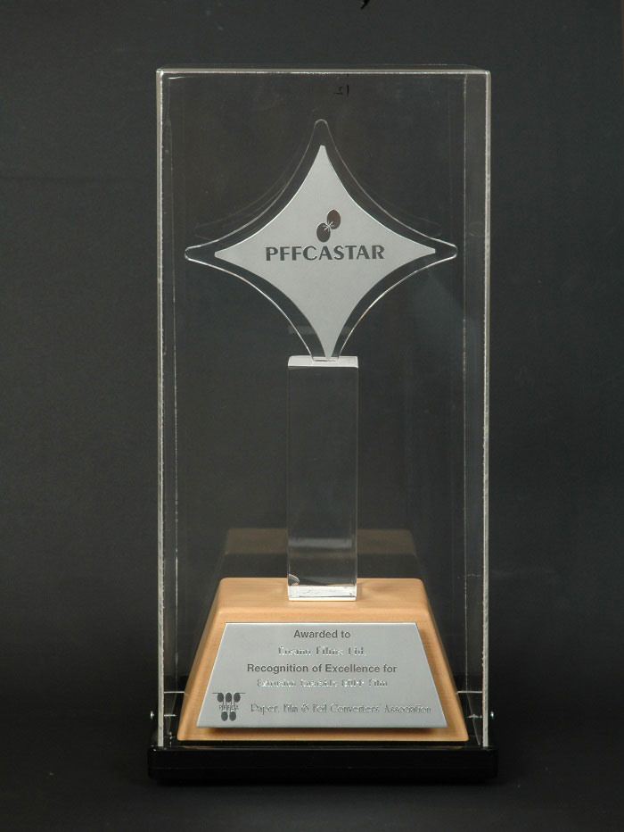 PFFCA STAR in 2008-09, 2007-08; 2005-06 for excellence in new product developments