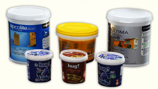 in mould label films